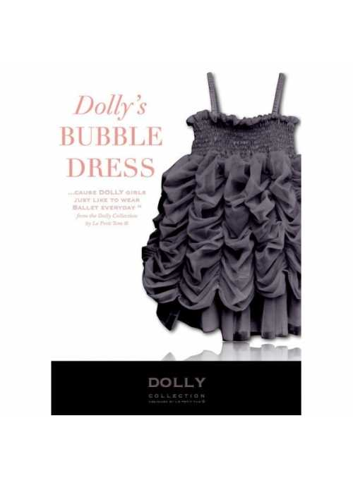 BUBBLE DRESS grey