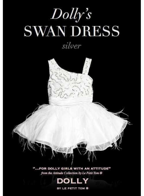 THE SWAN DRESS silver