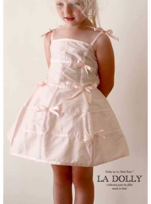 "LA DOLLY ""mannequin dress"" - pale pink"
