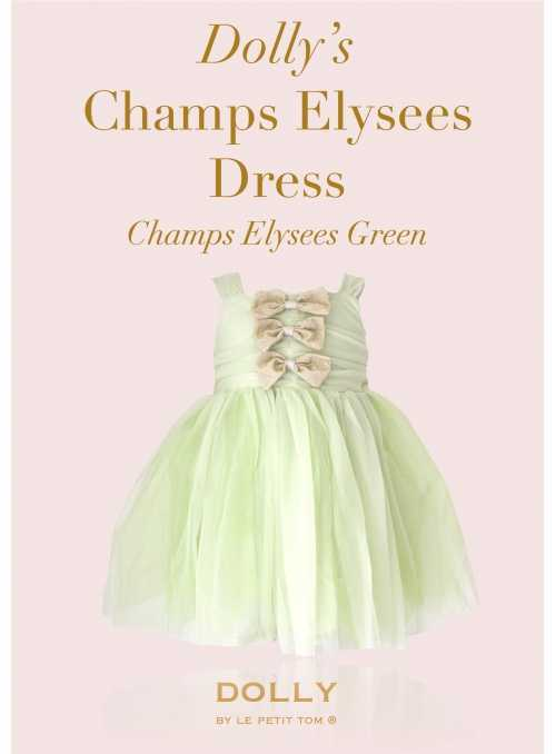 DOLLY Dress Champs Élysées - mint green