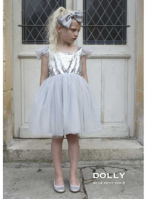 Dolly Dress angel wings, SILVERY GREY