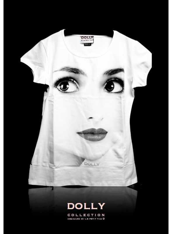 """DOLLY signature T-shirt """"DOLLY face"""""""